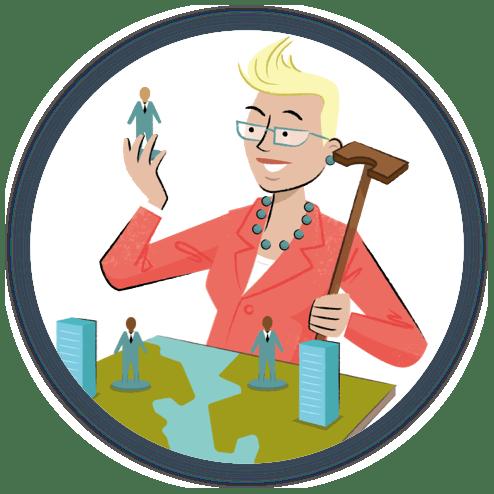 Businesses Illustration
