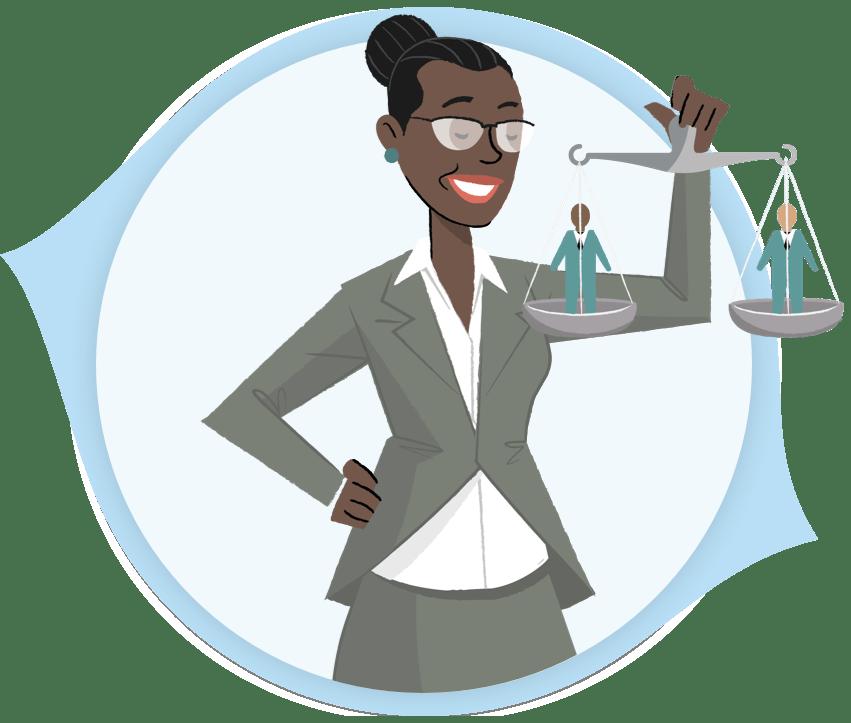Hiring Managers Illustration