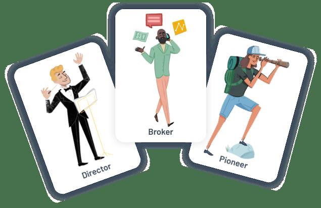 broker group illustration