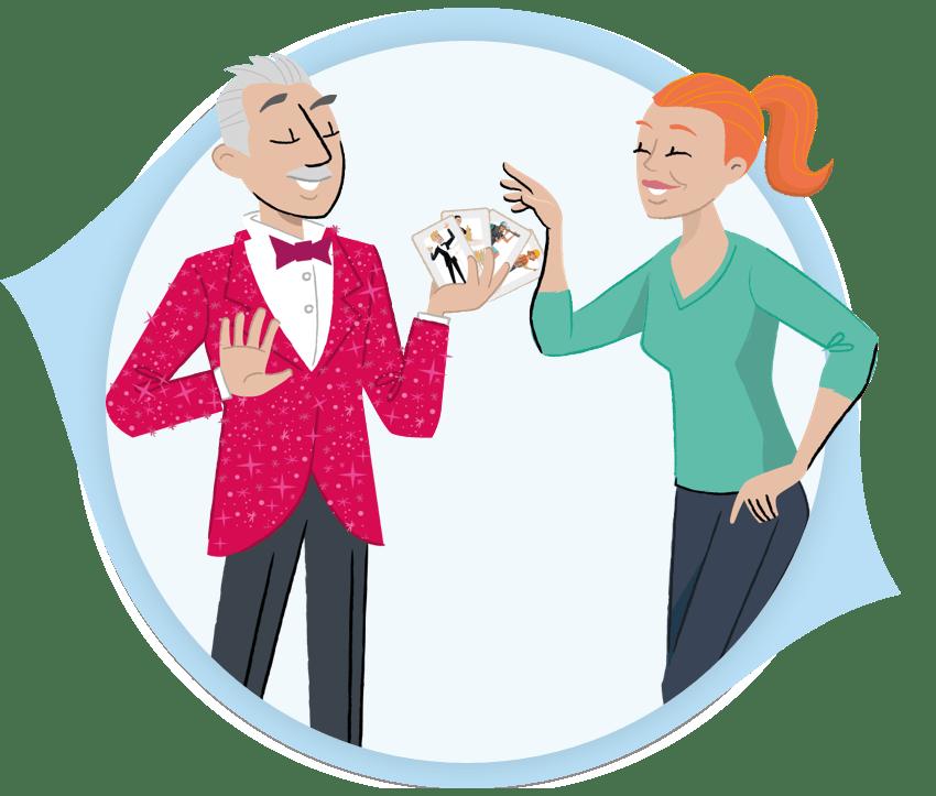 PeopleHawk Personas Illustration