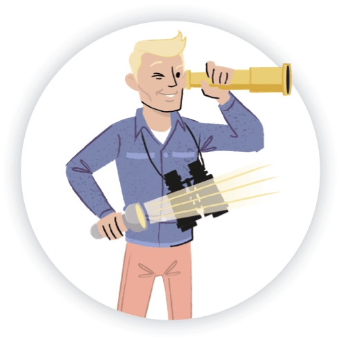 discover talent Illustration