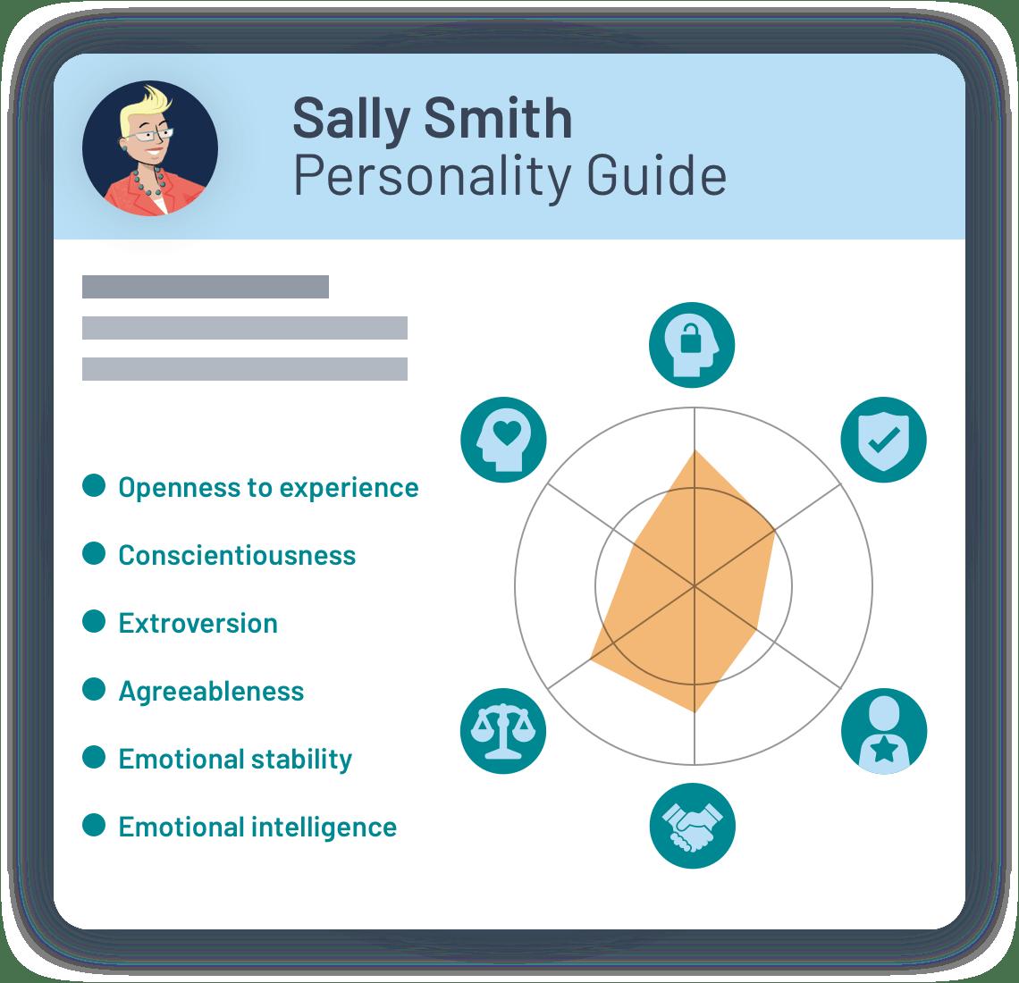 PeopleHawk Demo personality guide