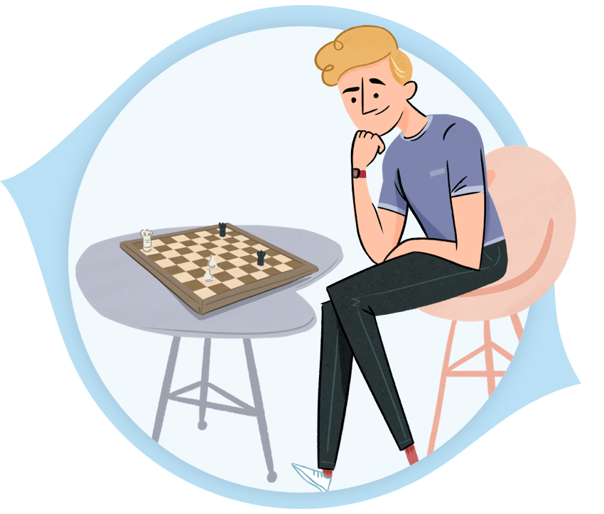 Candidates Cognitive Games PeopleHawk Illustration