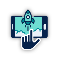Once click application icon
