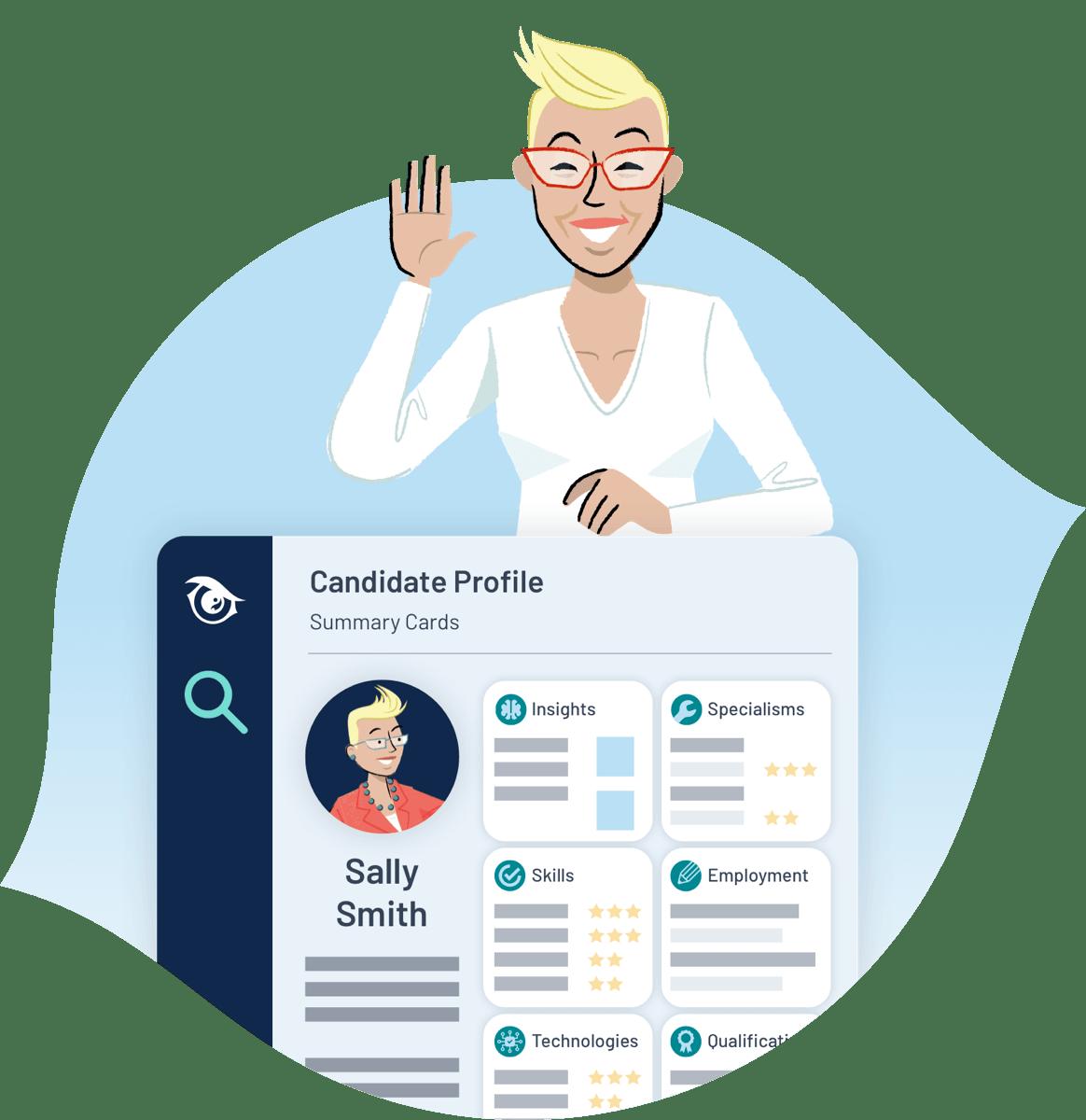PeopleHawk Digital Career Portfolio
